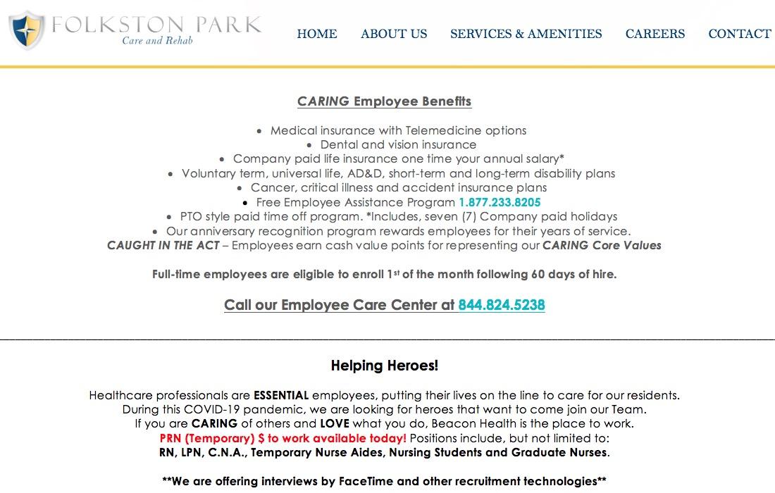 Folkston Park Care & Rehab